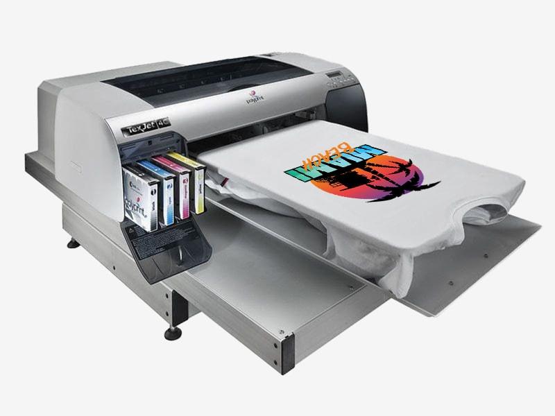 Printown nadruk techniką DTG